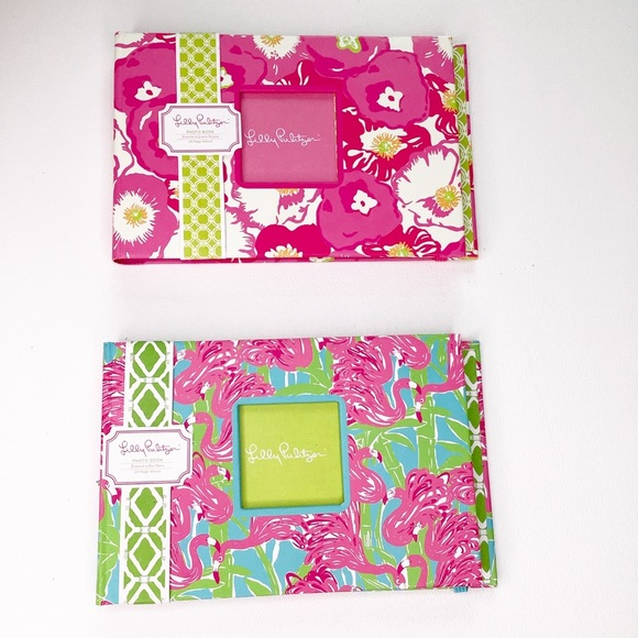 Lot Of 2 Lilly Pulitzer 4x6 Photo Album New